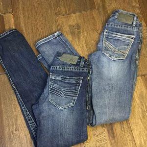 Set of 2- BKE Alec straight leg jeans